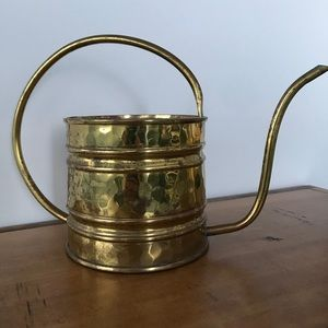🇨🇦Vintage Brass Watering Can